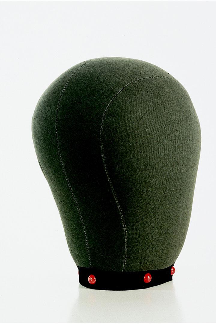 Cabeza de corcho de tela para implantación