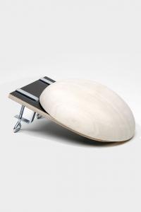 Base de madera para implantación de prótesis