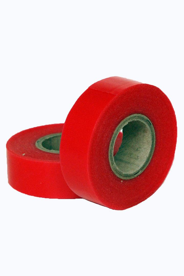 Adhesivo en rollo rojo