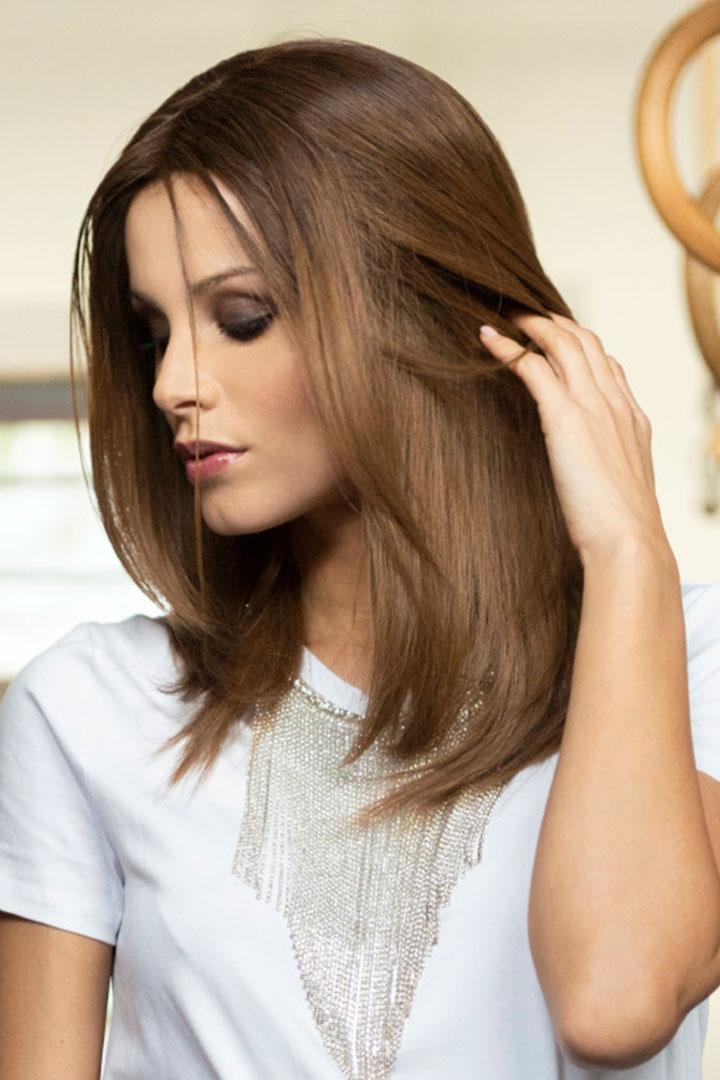 Peluca Alexis de cabello natural