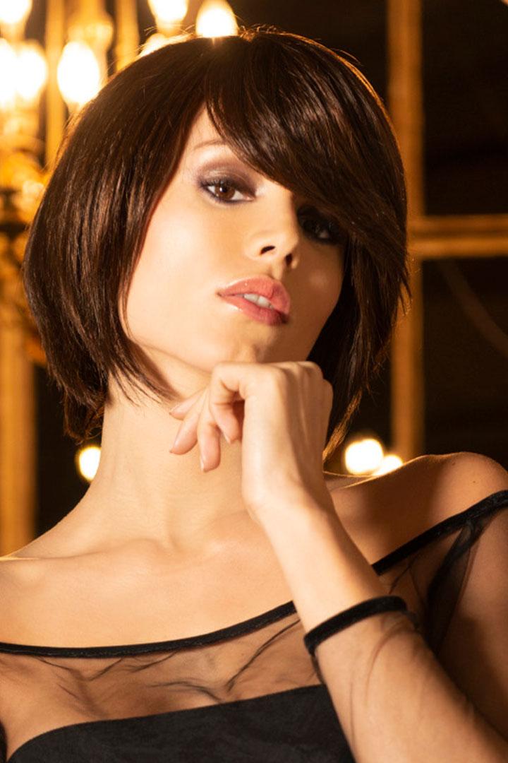 Peluca Giulia de cabello natural