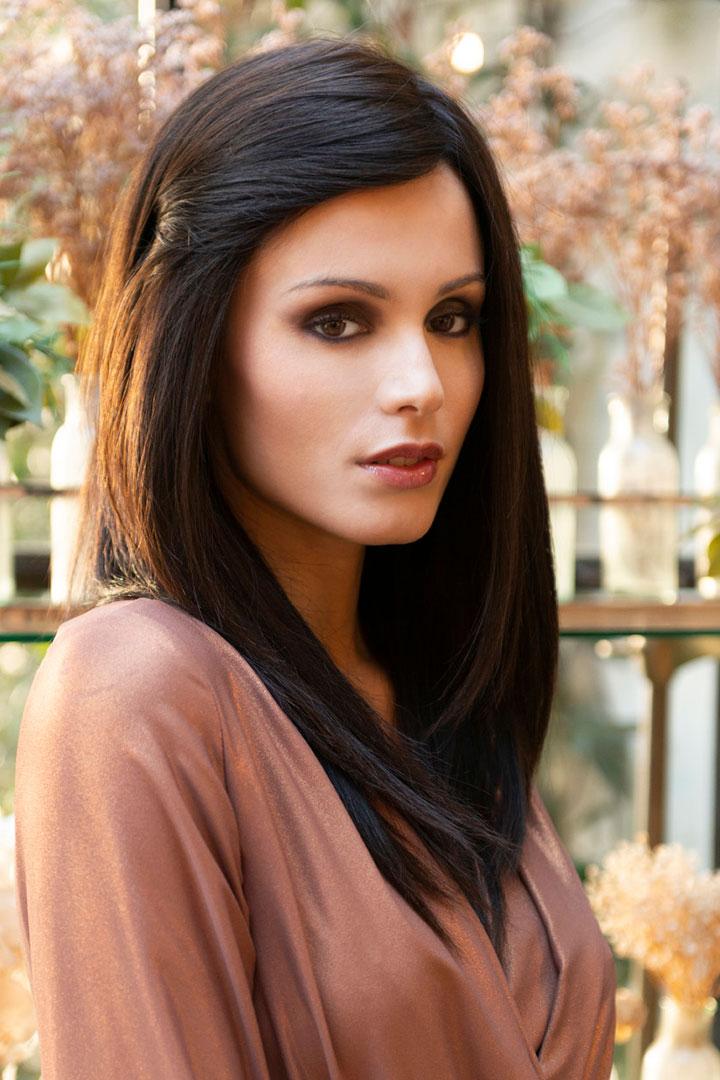 Peluca Sarah de cabello natural