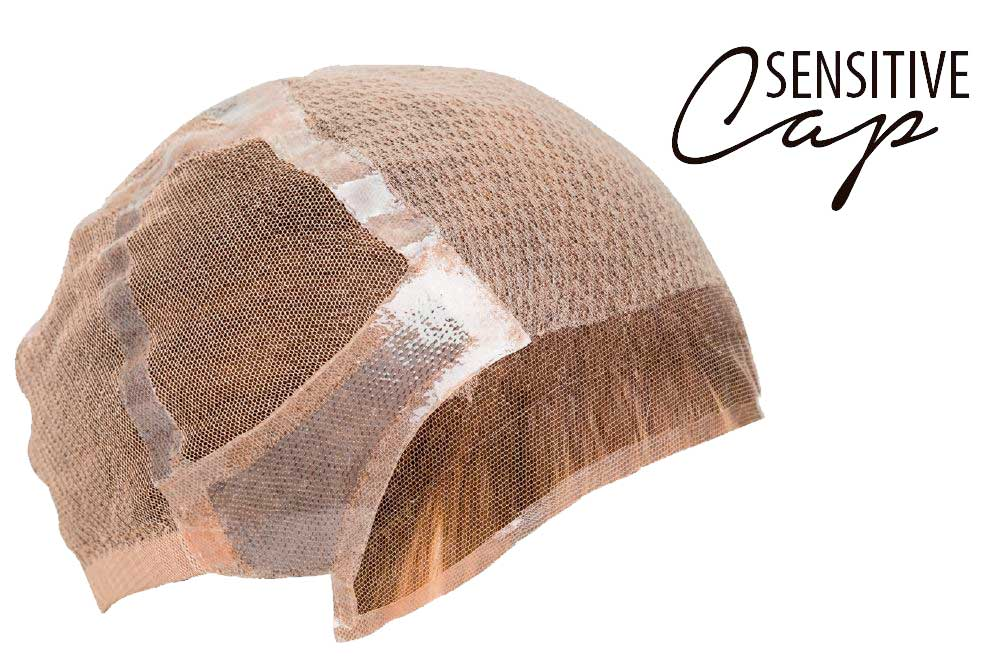 base sensitive cap de peluca fair fashion
