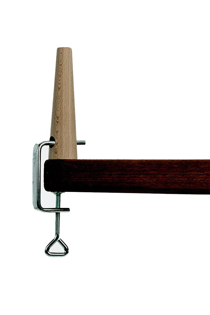 soporte de madera para maniquí