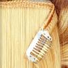 Extensiones tejidas con clips