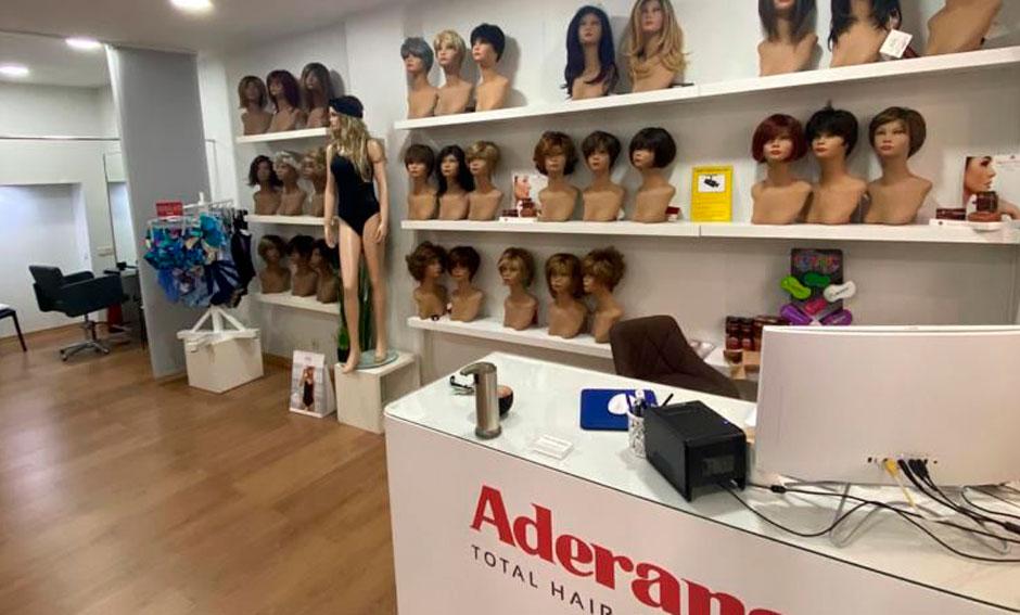 Tienda Aderans de Madrid