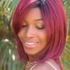 Peluca Sassy de cabello sintético